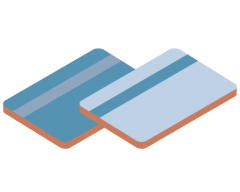 Curbstone Cards on File Payments